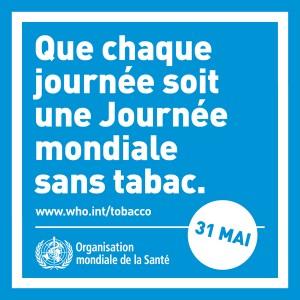 OMS.Journée sans tabac